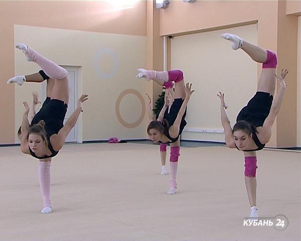 Кубанская команда «Небеса» взяла золото чемпионата мира по эстетической гимнастике