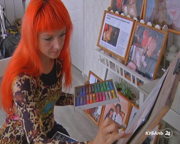 «Арт&Факты»: международный фестиваль PhotoVisa открывается в Краснодаре, художница из Сочи Ольга Поспехова нарисовала портрет Аллы Пугачевой