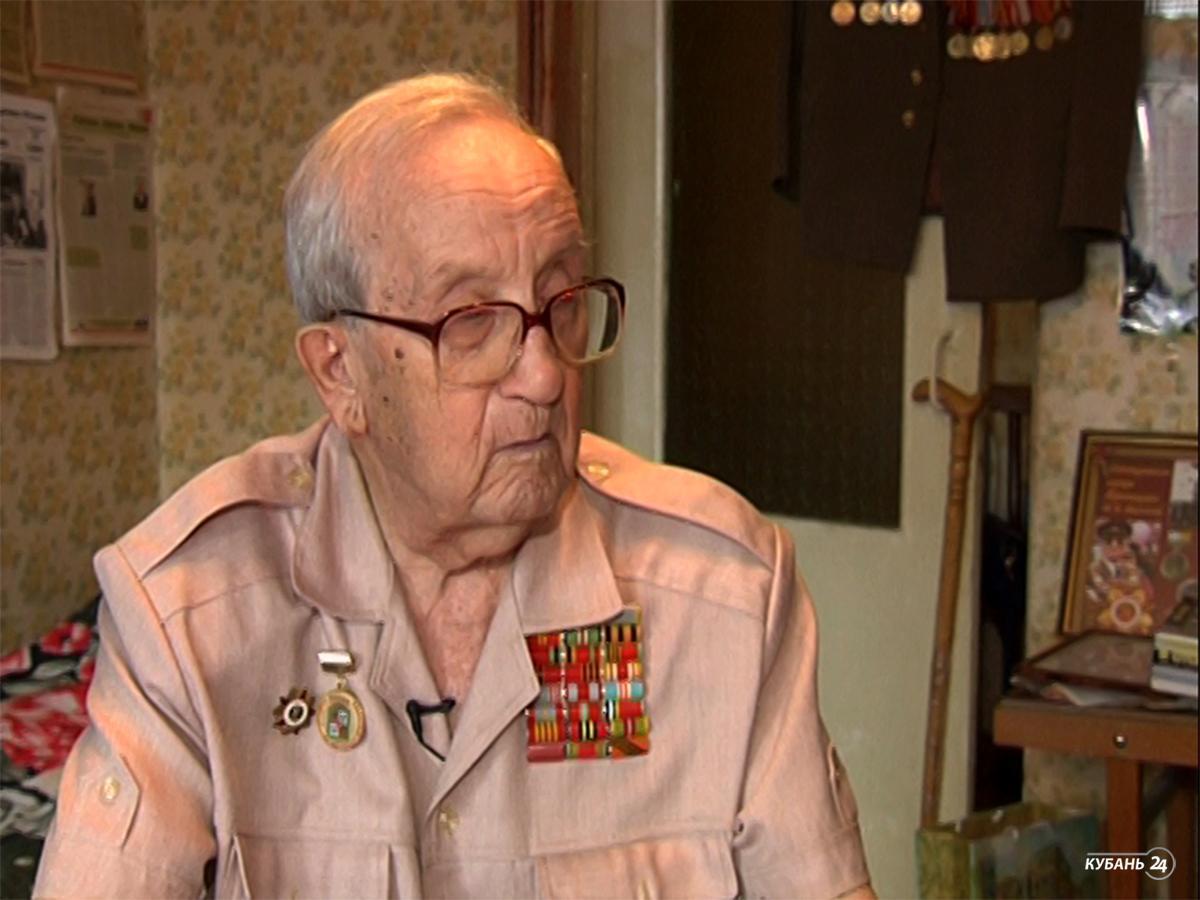 Ветеран Великой Отечественной войны Владимир Бирюков: есть профессия — быть защитником своей Родины