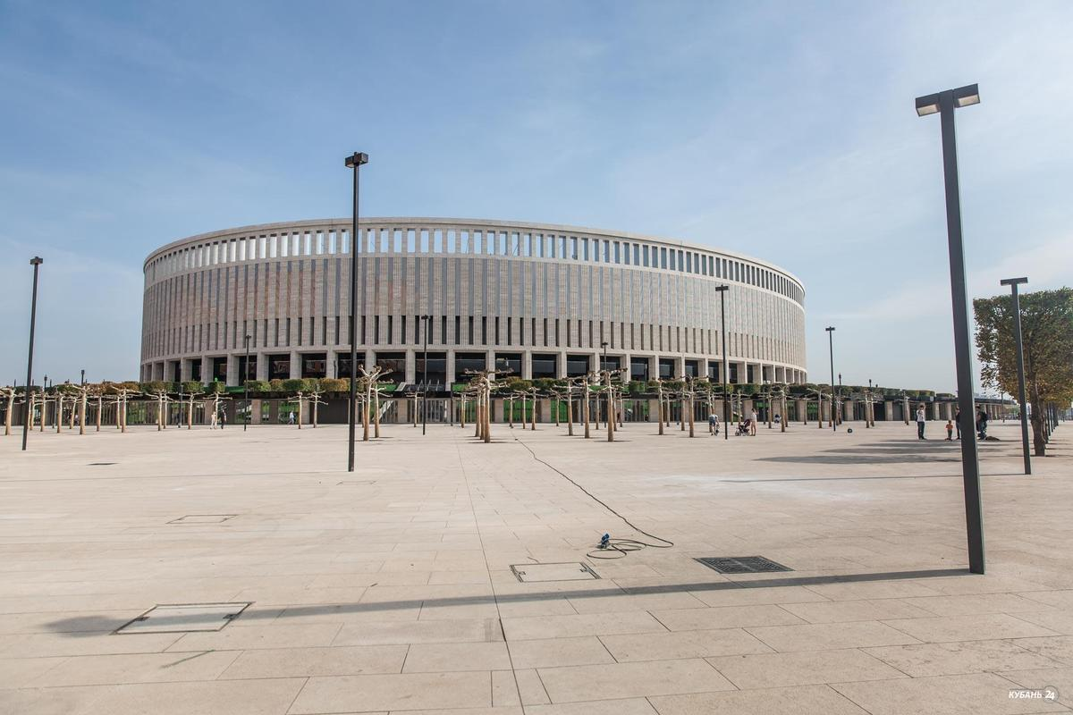 Экскурсия по стадиону ФК «Краснодар» с Сергеем Галицким