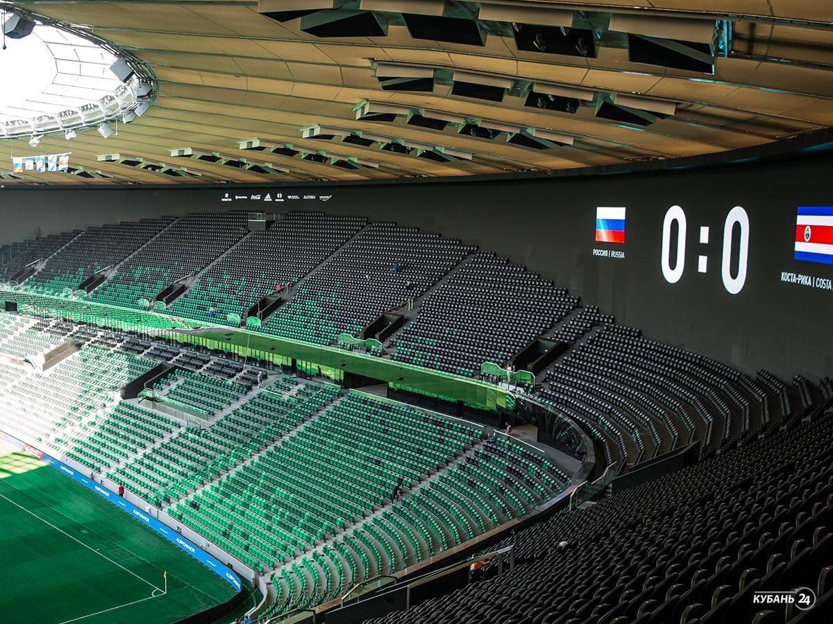 «Спорт. Итоги»: в Краснодаре открылся новый стадион, в Сочи впервые пройдет беговой марафон
