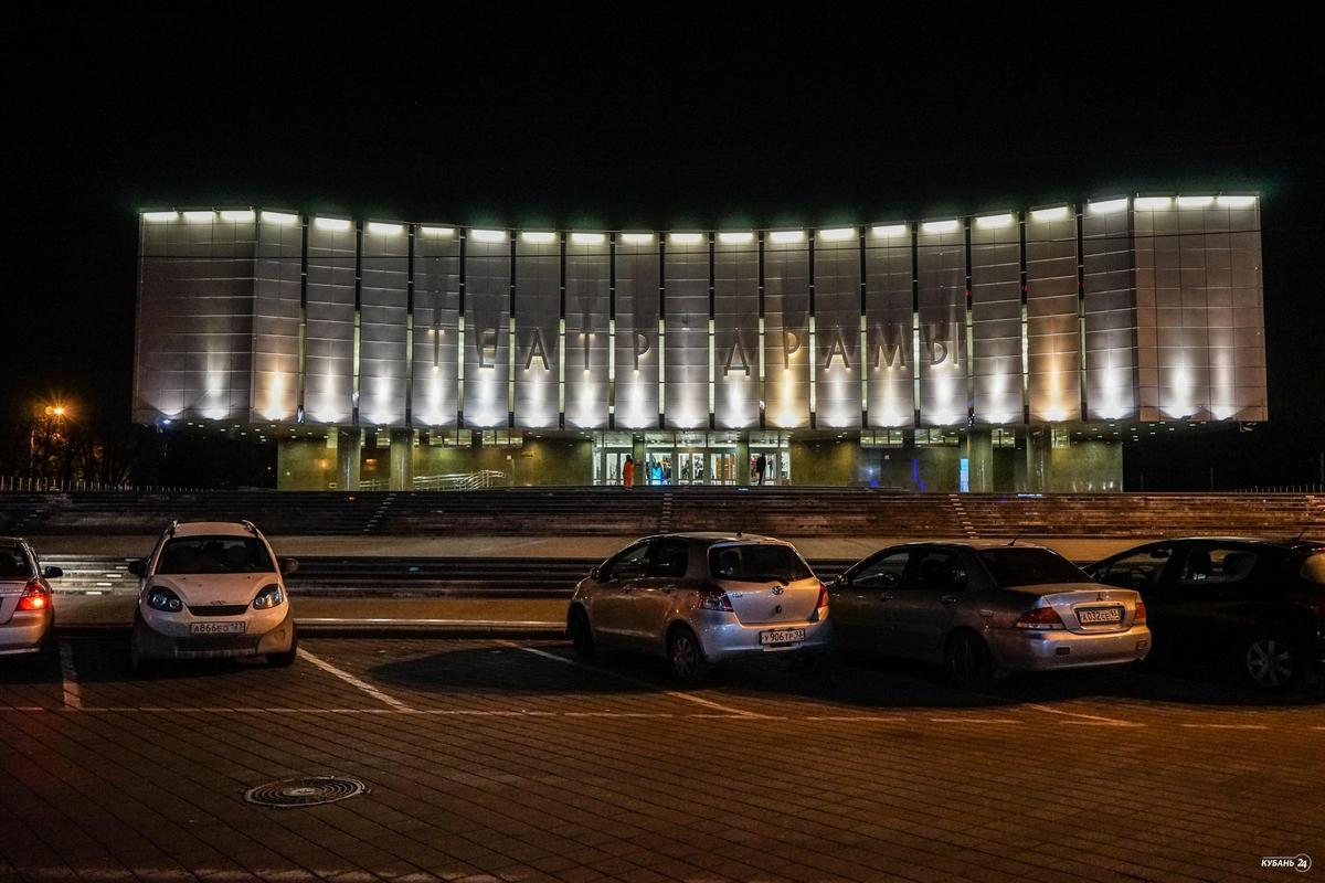 Акция «Театральная бессонница» в Краснодаре