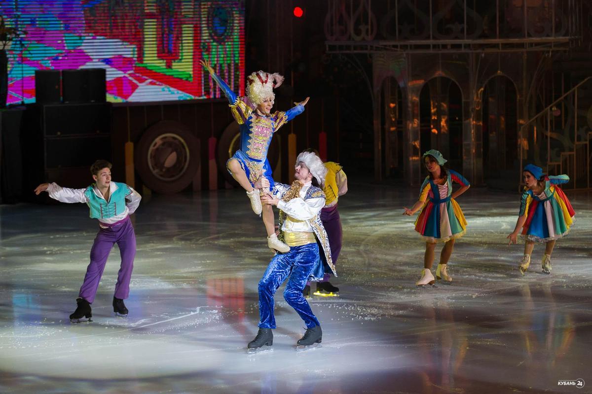 Спектакль «Новые бременские музыканты на льду» в Сочи