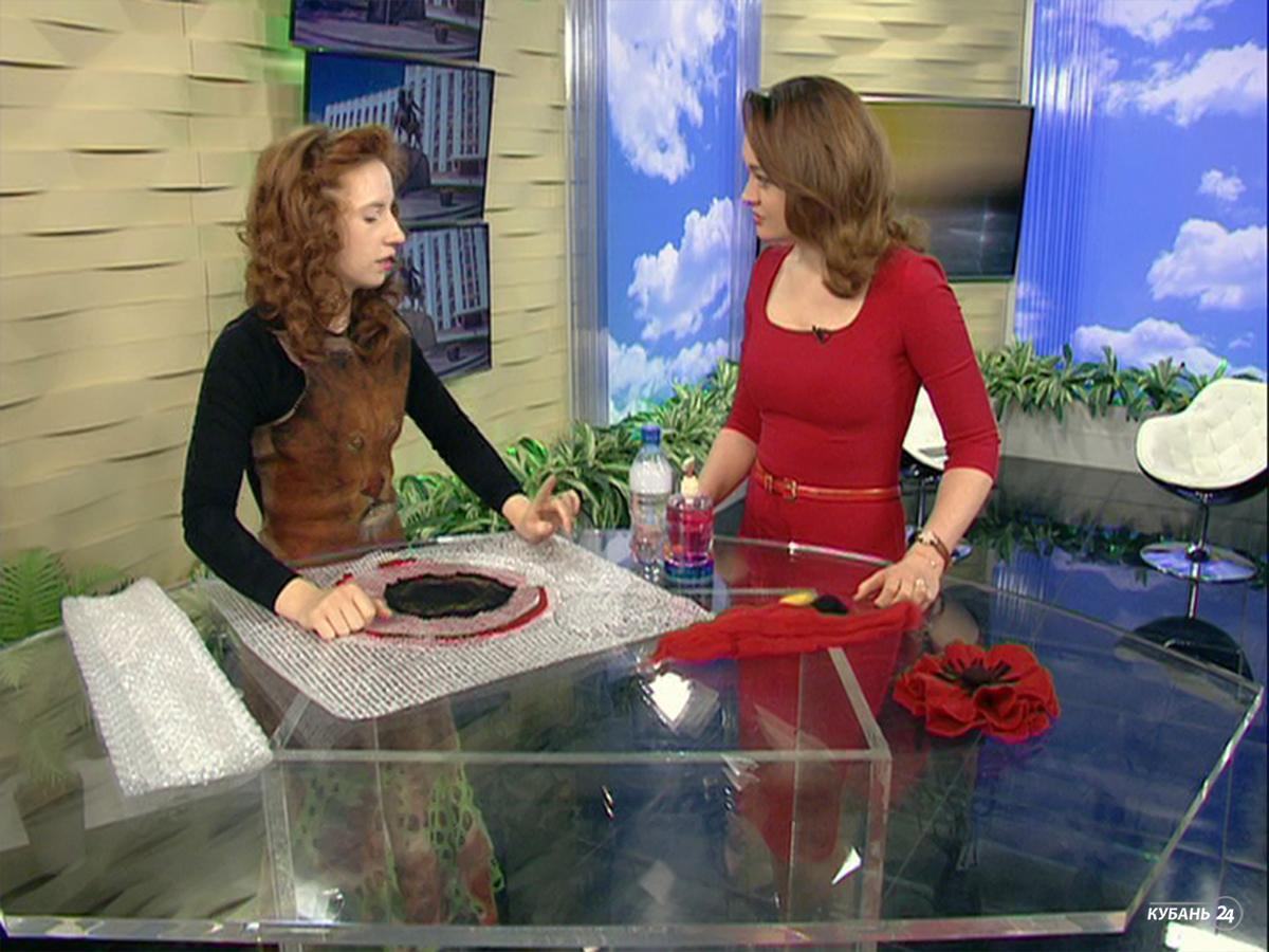 Дизайнер Милана Боровская: технике валяния шерсти меня научила мама