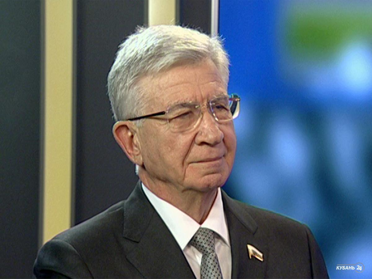 Депутат Госдумы Владимир Евланов: Краснодар серьезно недополучает государственных инвестиций