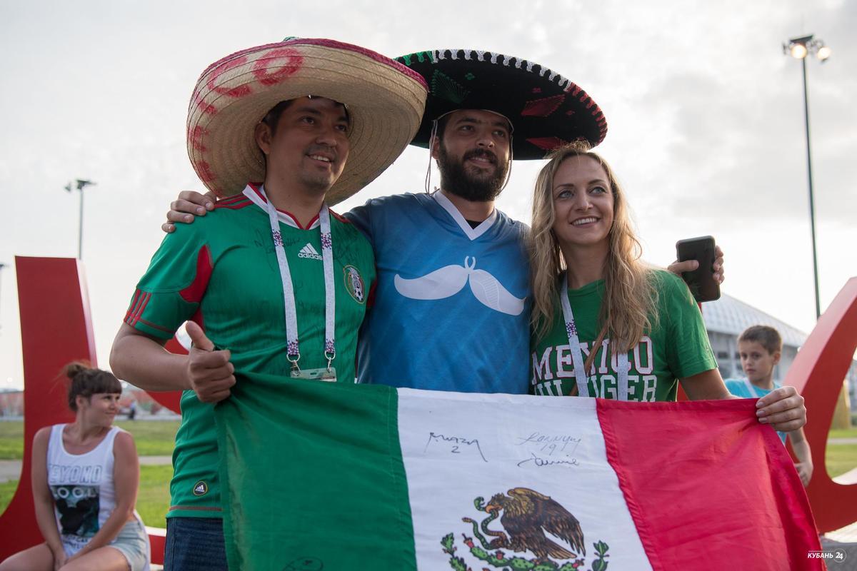 Матч Германия — Мексика в Сочи