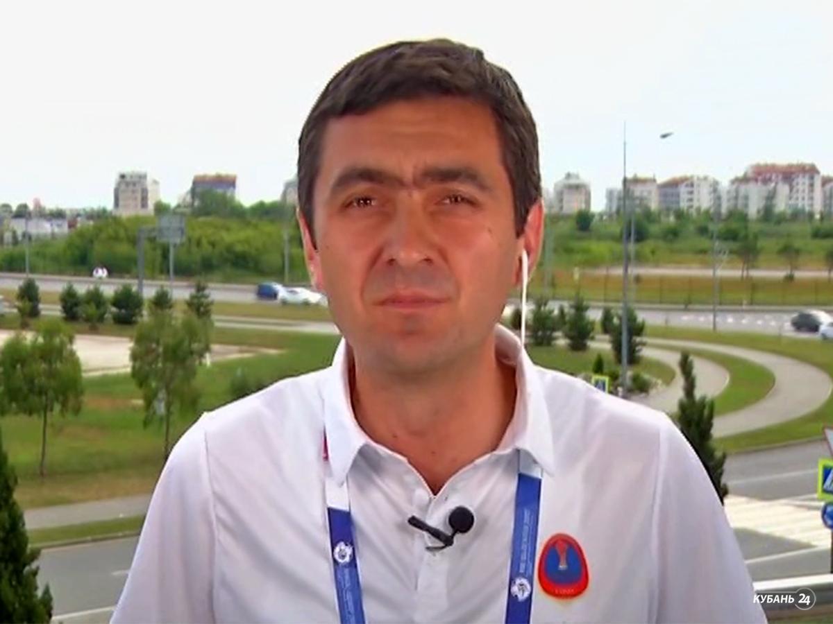 Руководитель сочинских волонтеров Андрей Безроднов: на Кубке конфедераций работает 800 волонтеров