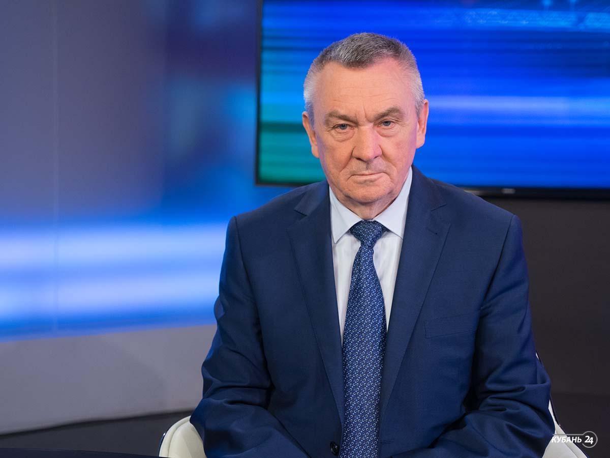 Интервью с председателем ЗСК Владимиром Бекетовым