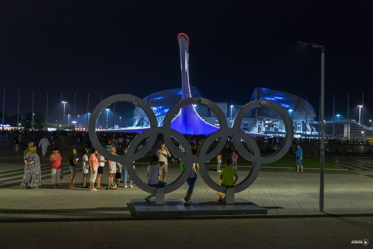 Отборочный этап мирового чемпионата фейерверков в Сочи