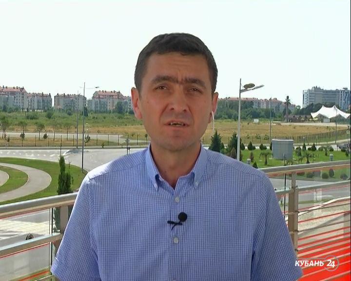 Куратор молодежной политики в Сочи Андрей Безроднов: площадки отвечают всем нормам безопасности