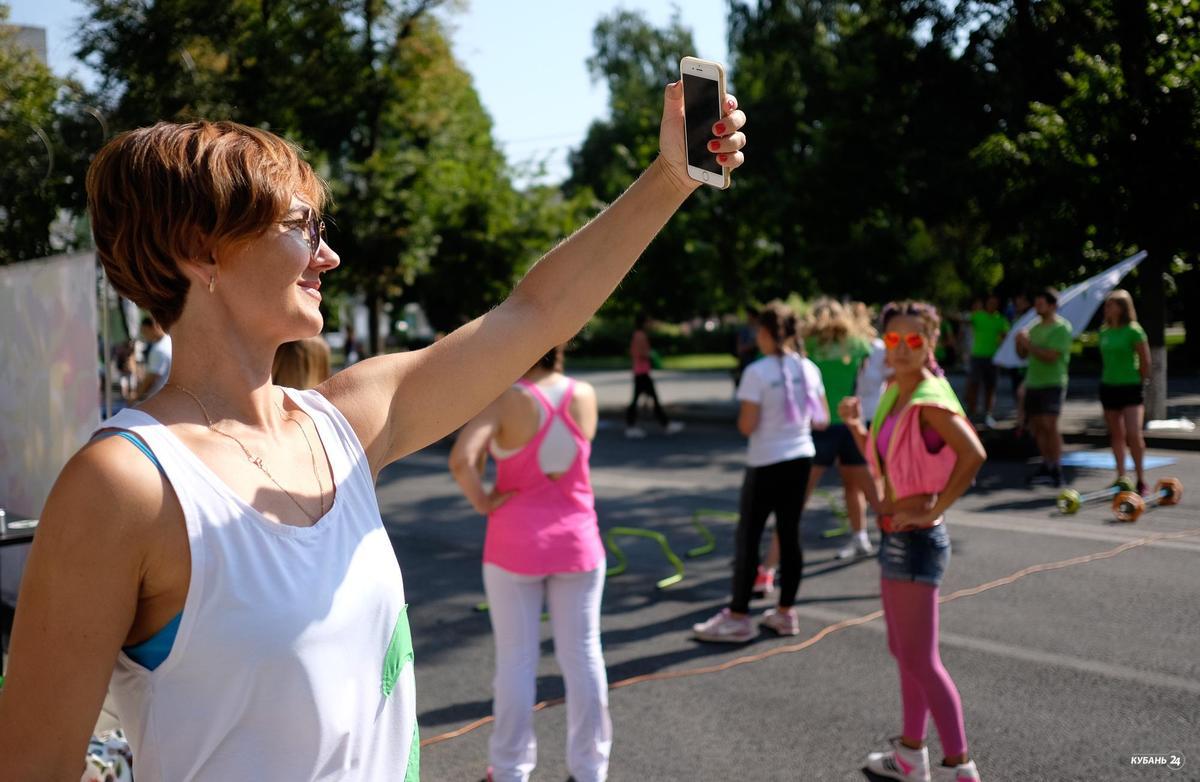 День физкультурника в Краснодаре