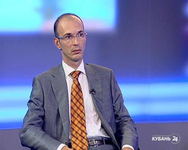 Интервью с заместителем министра экономики Краснодарского края Игорем Красавиным