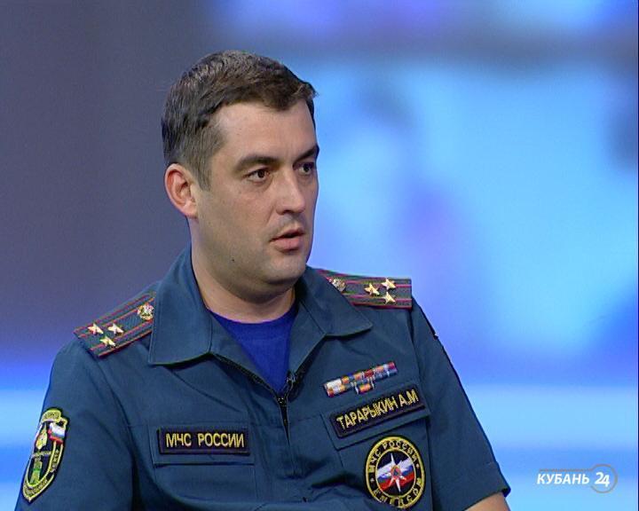 Начальник регионального ГУ МЧС Александр Тарарыкин: в 37 районах края — самый высокий класс пожароопасности