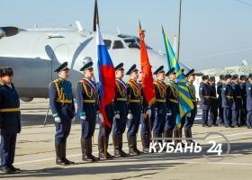 Выступление авиагруппы высшего пилотажа «Стрижи» в Армавире