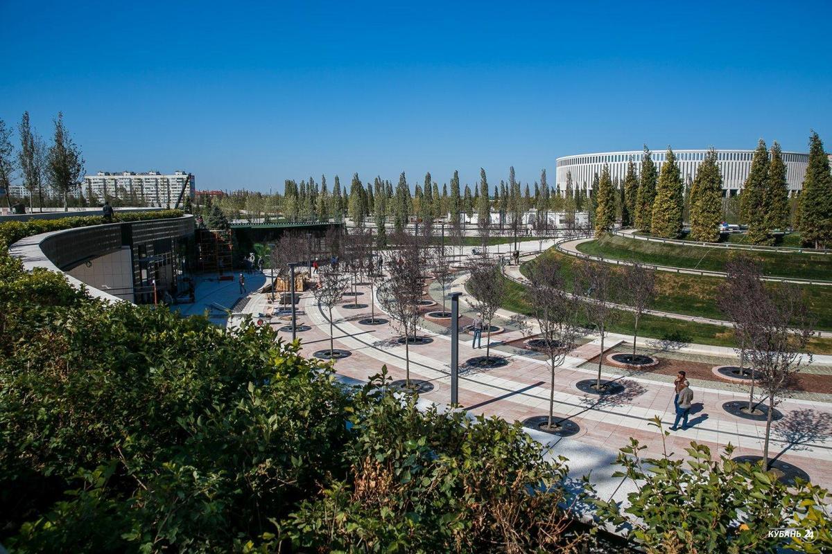 «Факты 24»: возле стадиона «Краснодар» прошло техническое открытие нового парка, в Москве открылись павильоны ярмарки «Дни Краснодарского края»