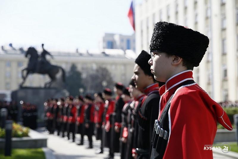 Поздравление президента Владимира Путина с 65-летием от кубанцев
