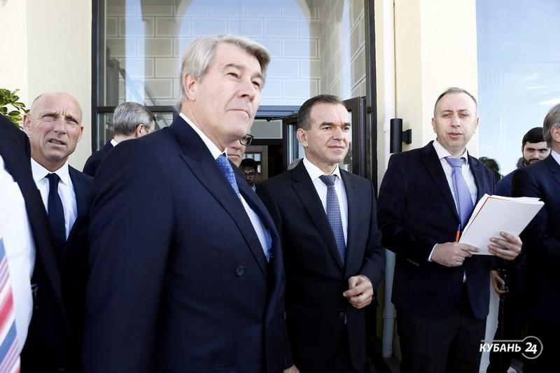 «Факты 24»: губернатор Кубани встретился с руководителями ведущих немецких компаний, в зоопарке Сочи родился детеныш оленя