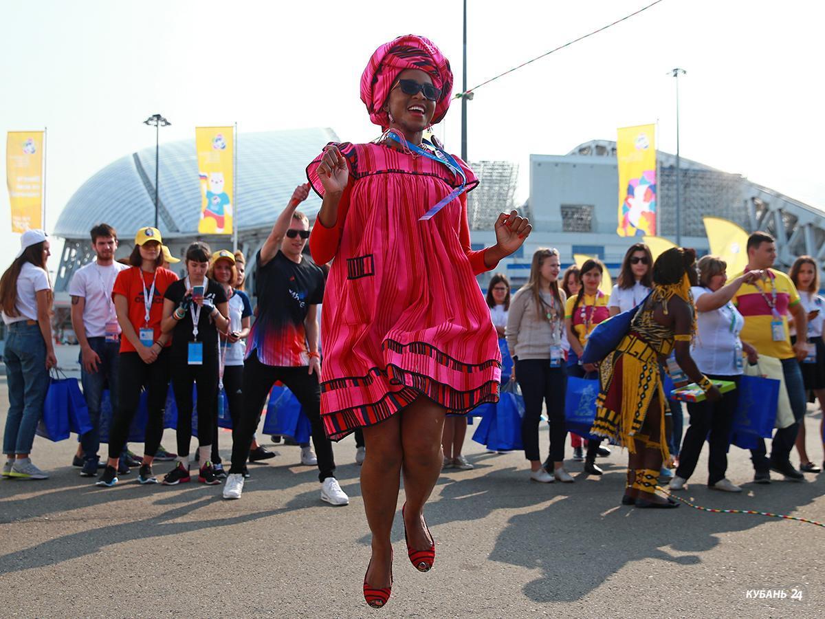 Четвертый день Всемирного фестиваля в Сочи посвятили Азии и Океании
