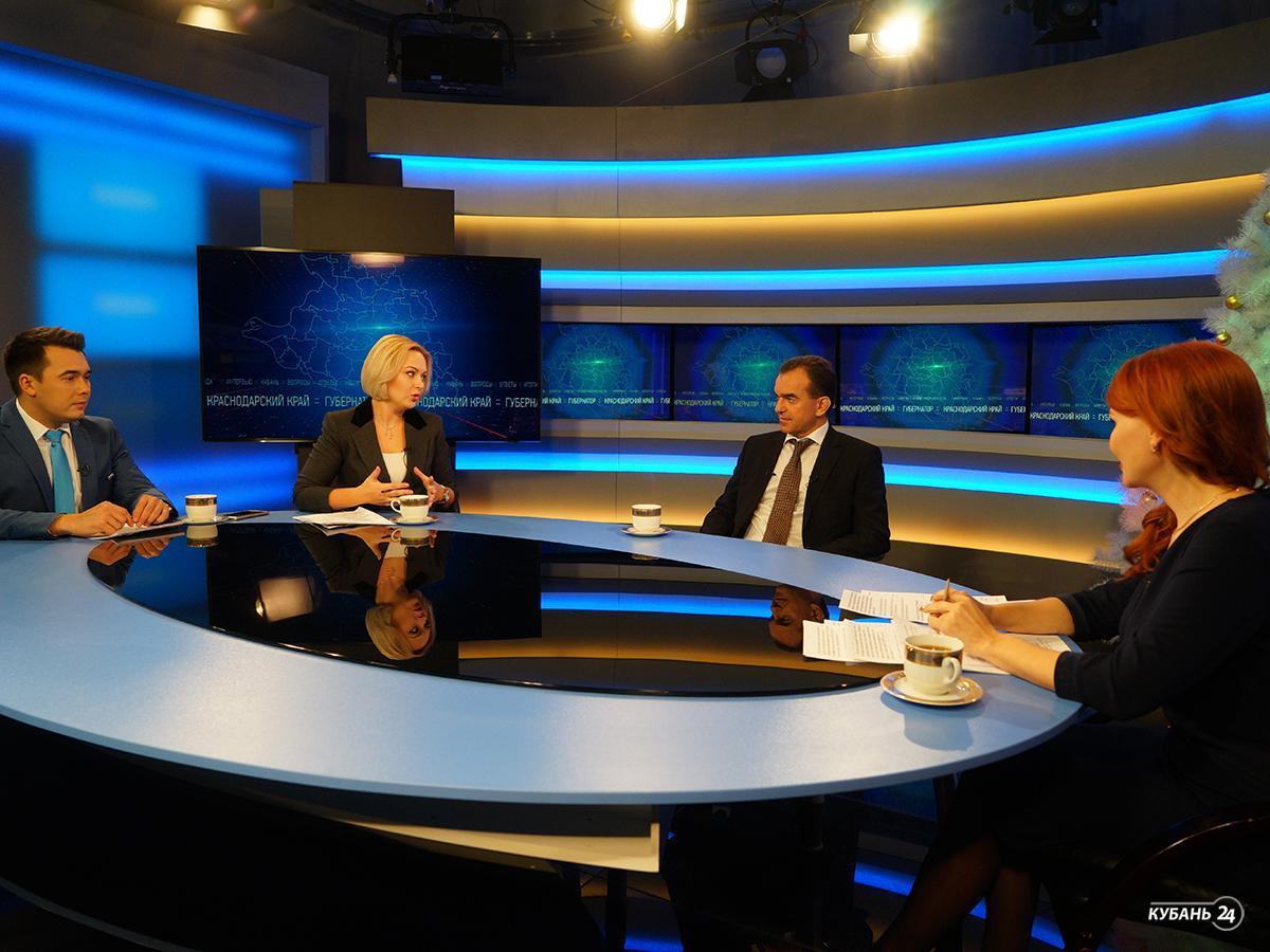 «Факты 24»: Вениамин Кондратьев дал итоговое интервью ведущим телеканалам Кубани, врач ККБ № 1 прооперировал пациентку, от которой отказались клиники