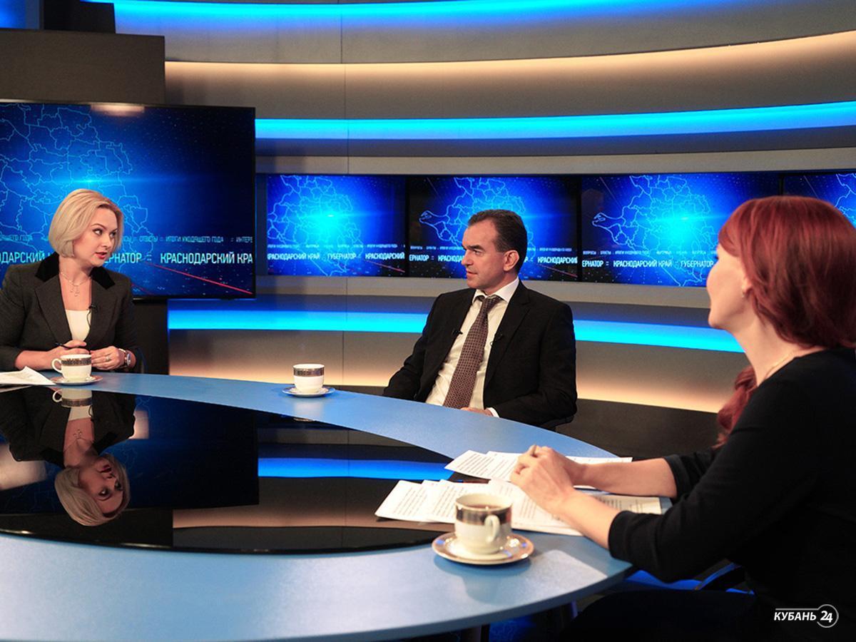 Большое интервью с губернатором Краснодарского края Вениамином Кондратьевым