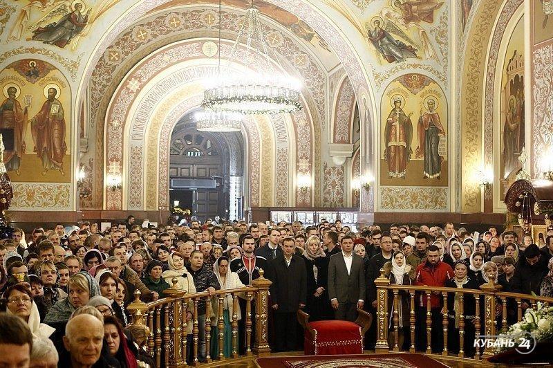 «Факты 24»: губернатор Кубани поздравил жителей Кубани с Рождеством Христовым, в Рождественском храме Краснодара впервые установили живой Вертеп