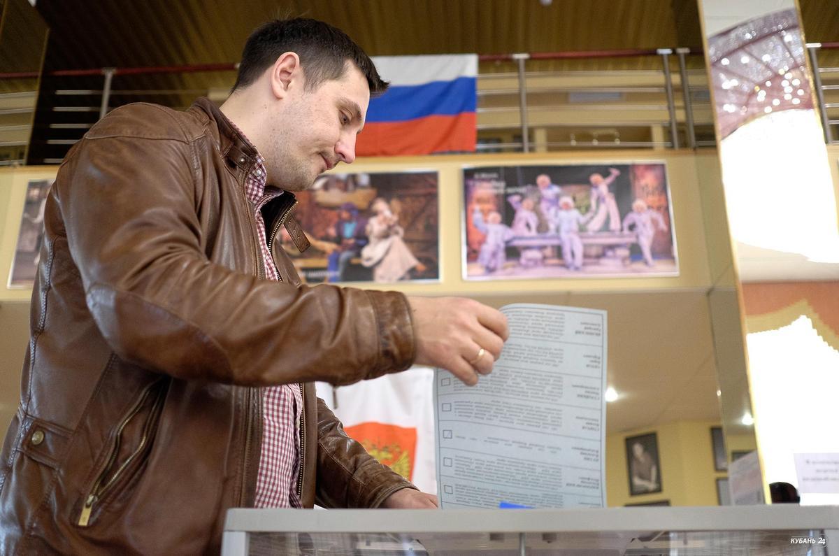 Выборы президента России в Краснодаре