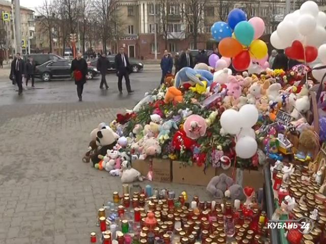 «Факты 24»: во всех районах Кубани прошли митинги скорби о погибших в Кемерове, губернатор и прокурор края провели совещание по проверке ТРЦ на Кубани