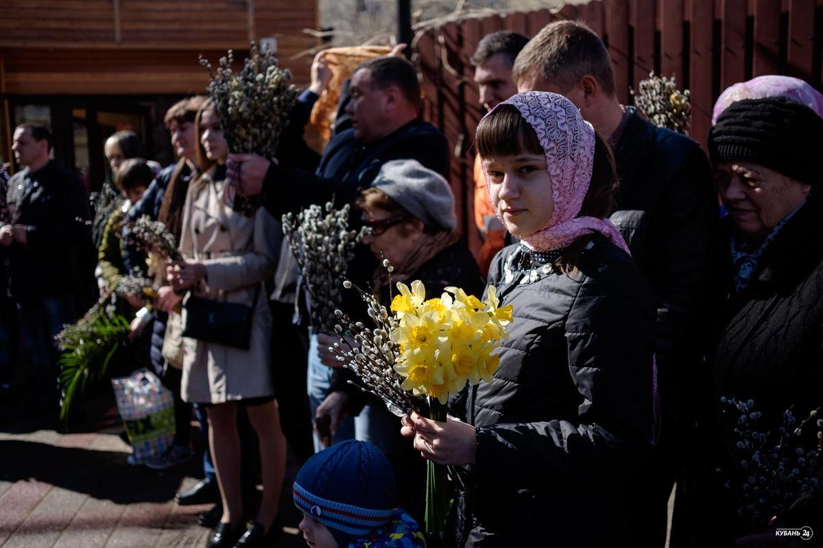 Детский крестный ход в Краснодаре
