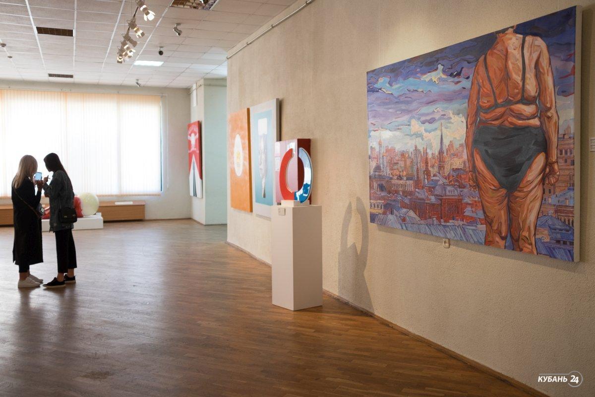 Персональная выставка музыканта Сергея Шнурова в Краснодаре