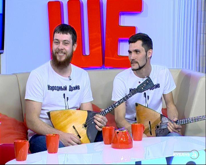 Музыкант дуэта «Народный драйв» Александр Маслюк: на балалайке можно сыграть практически все, что угодно