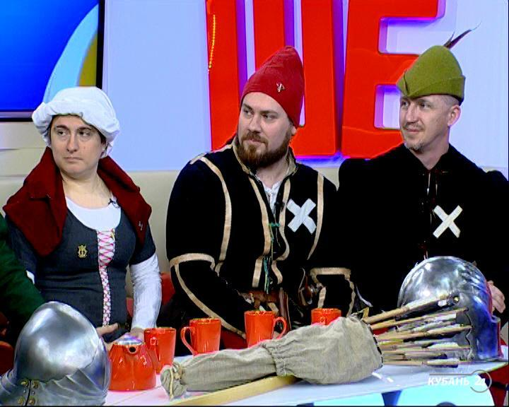 Участник клуба исторической реконструкции «Бургундская пехота» Андрей Кодолов: ритуалом посвящения в реконструкторы можно назвать пошив костюма