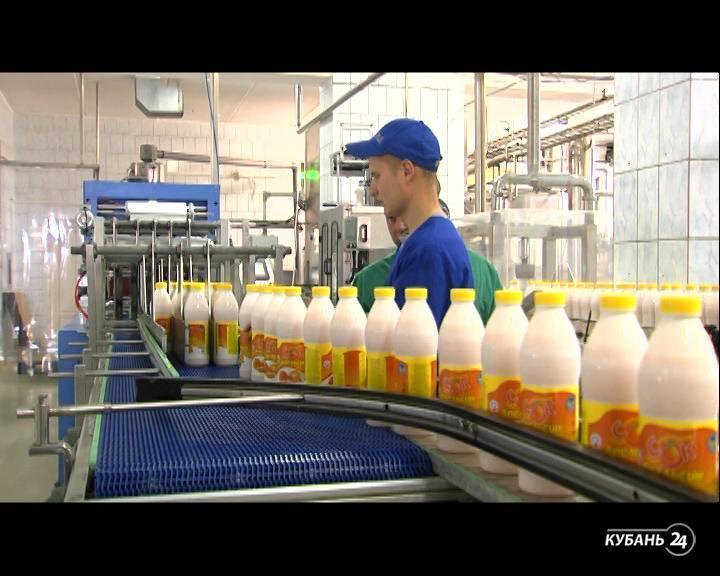 Для ведущей телеканала «Кубань 24» провели экскурсию по заводу фирмы «Калория»