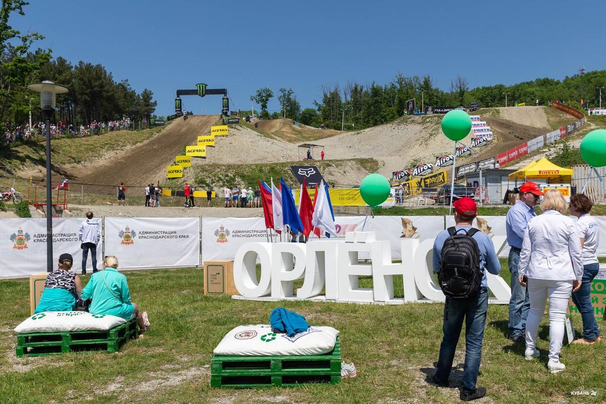 Российские этапы чемпионатов мира и Европы по мотокроссу в «Орленке»