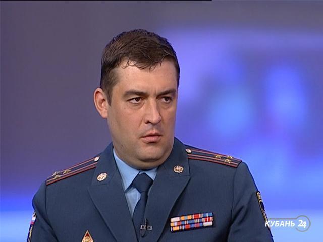 Начальник ГУ МЧС РФ по Краснодарскому краю Александр Тарарыкин: уже проверено почти 80% всех торговых объектов края
