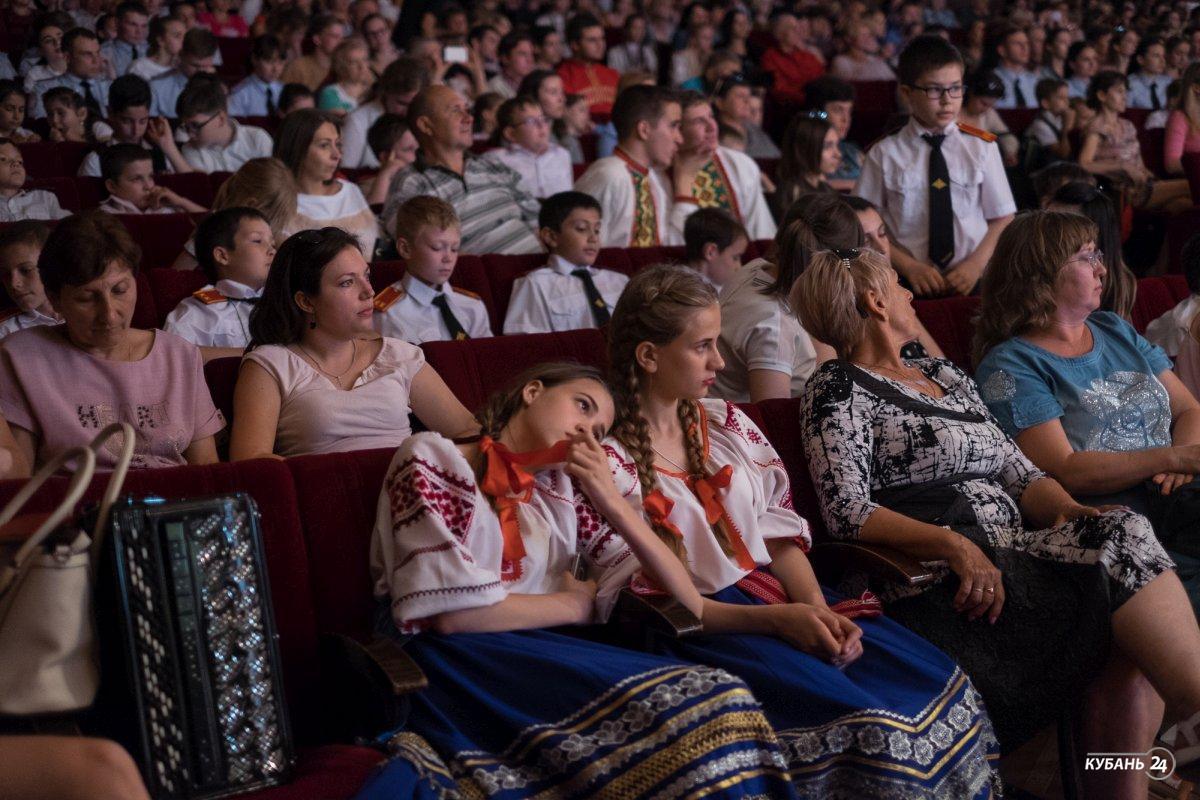 Финал конкурса детских фольклорных коллективов «Кубанский казачок»