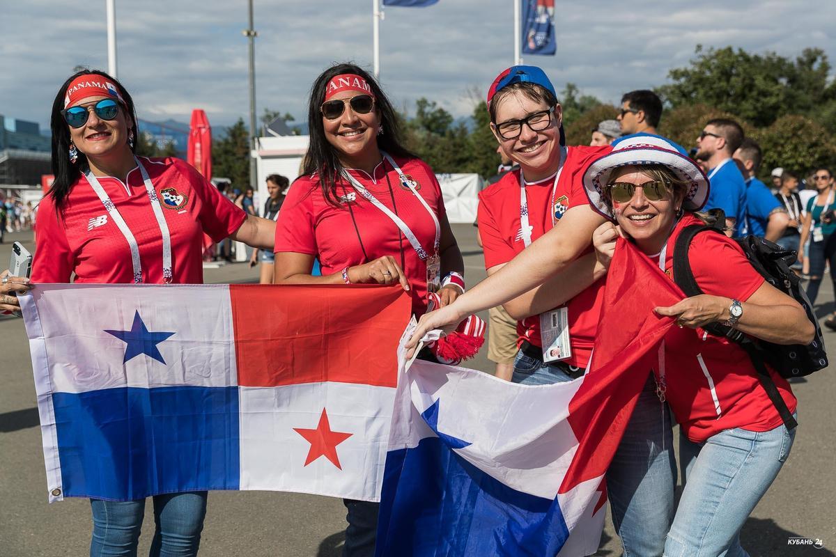 Матч сборных Бельгии и Панамы на ЧМ-2018 в Сочи