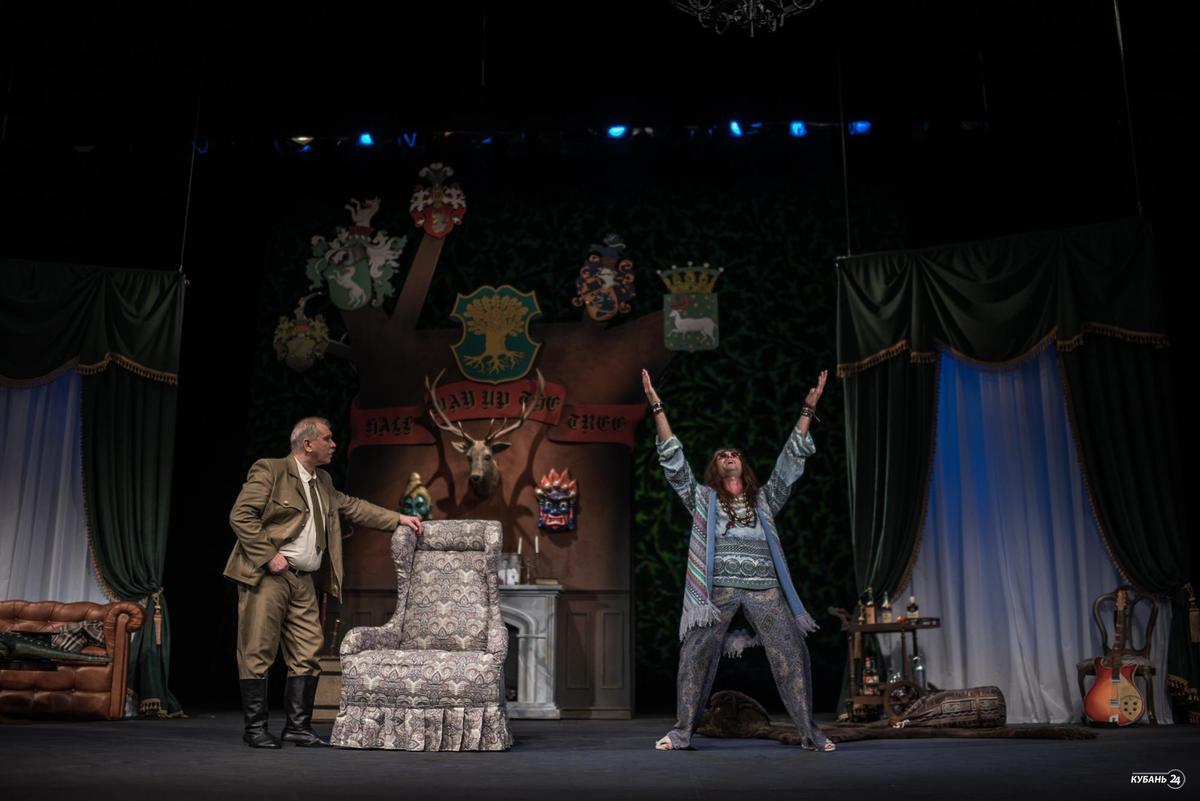 Комедия «На полпути к вершине» в краснодарском Театре драмы