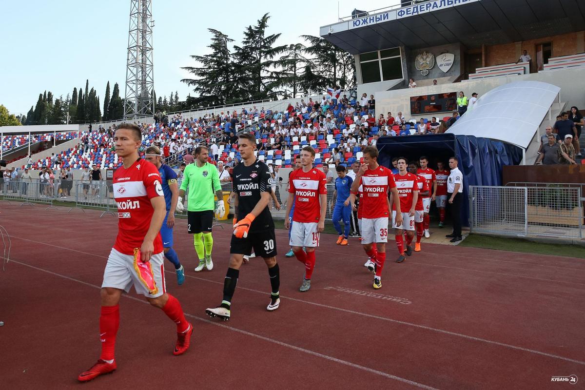 Матч ФК «Сочи» — «Спартак-2»