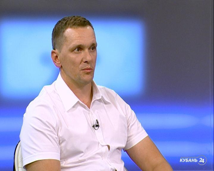Директор управления коммунального хозяйства и благоустройства Краснодара Дмитрий Буряк: на первом этапе обустроим 450 м аллеи