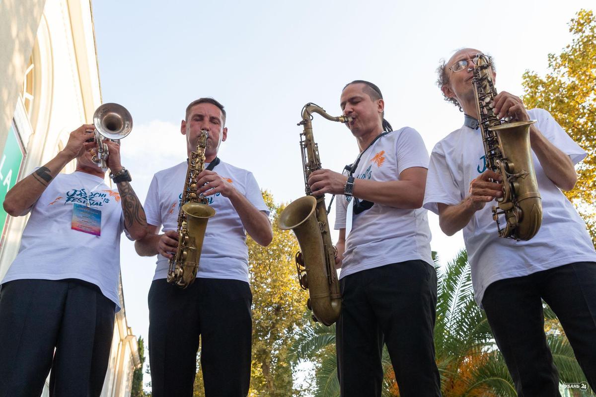 Открытие Sochi Jazz Festival— 2018