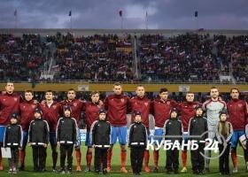 Товарищеский футбольный матч Россия — Португалия в Краснодаре