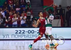 Матч Евролиги ПБК «Локомотив-Кубань» — «Панатинаикос»