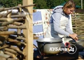 Фестиваль «Вэсэлые шкваркы» в Северском районе