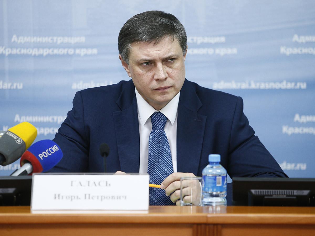Вице-губернатор Игорь Галась: главным для нас неизменно остается строительство школ и детских садов
