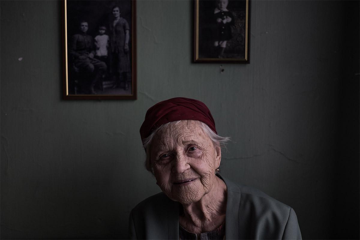 Защитница Отечества Елена Коссовская