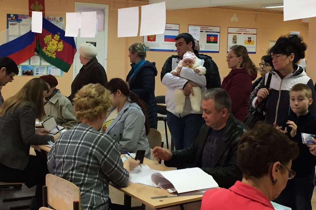 Восемь причин, по которым кубанцы стояли в очередях за право отдать голос