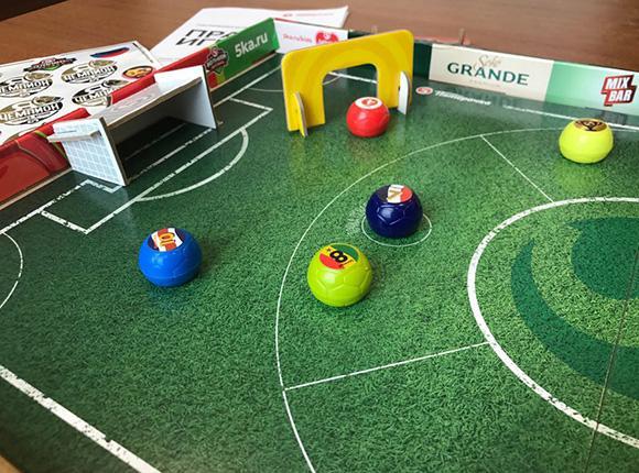 Большой футбол на собственном столе