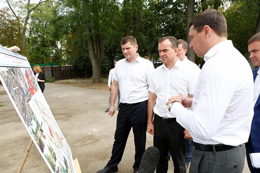 «Факты 24»: Кондратьев оценил ход строительства парков и скверов в Краснодаре, в Геленджике открылся «Гидроавиасалон-2018»