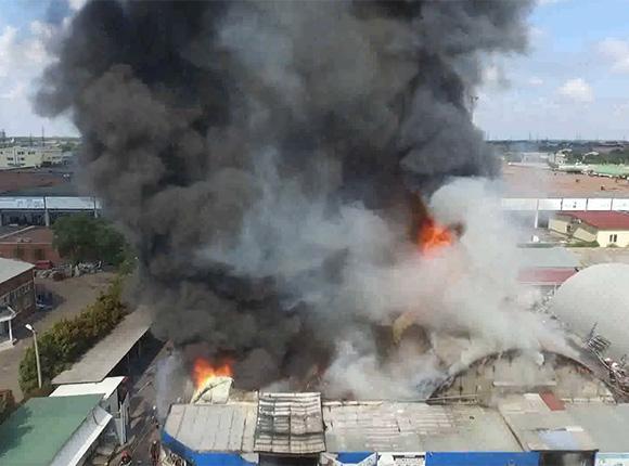 «Факты 24»: в Краснодаре потушили пожар на складе на улице Уральской, на Кубани стартовала прививочная кампания против гриппа