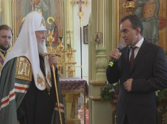 «Факты 24»: Патриарх Кирилл и Вениамин Кондратьев посетили Армавирскую епархию, на участке федеральной трассы М-4 «Дон» открыли новую развязку